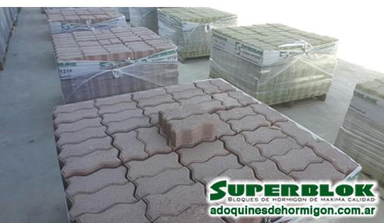 Adoquines de hormig n superblok pavimento articulado - Como colocar adoquines de hormigon ...